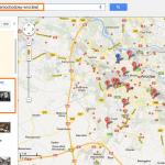 Optymalizacja i pozycjonowanie wizytówki w Google - mechanik samochodowy wrocław - efekt na mapie