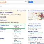 Optymalizacja i pozycjonowanie wizytówki w Google - mechanik samochodowy wrocław - efekt w wynikach wyszukiwania